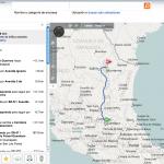 Mapas de carreteras de Mexico