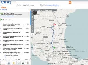 Maps de Carreteras de México